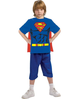 Superman costume kit for a boy