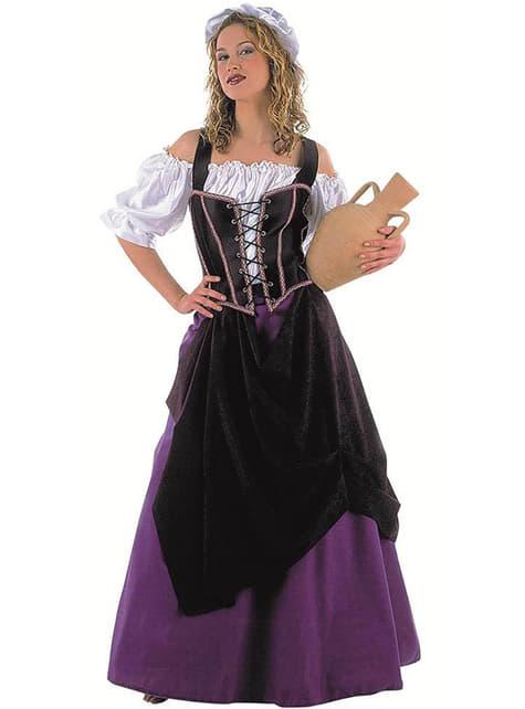 Kostým pro dospělé středověká hostinská