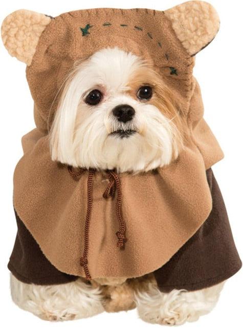 Ewok costume for a dog