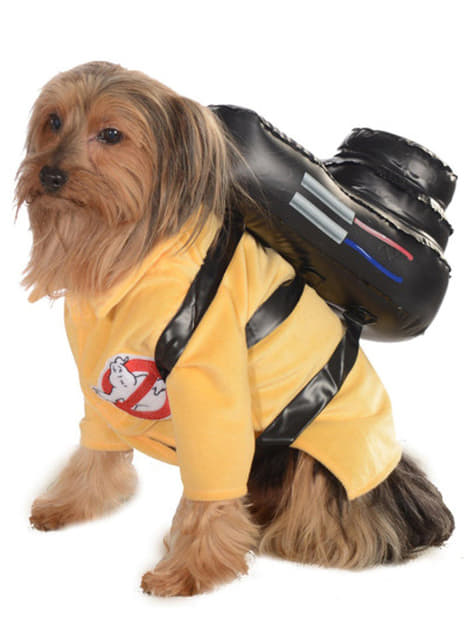 Ghostbuster costume for dog