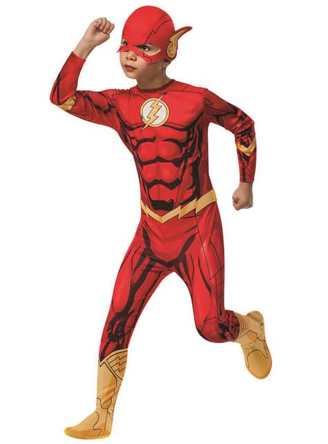 Flash DC Comics costume for a boy