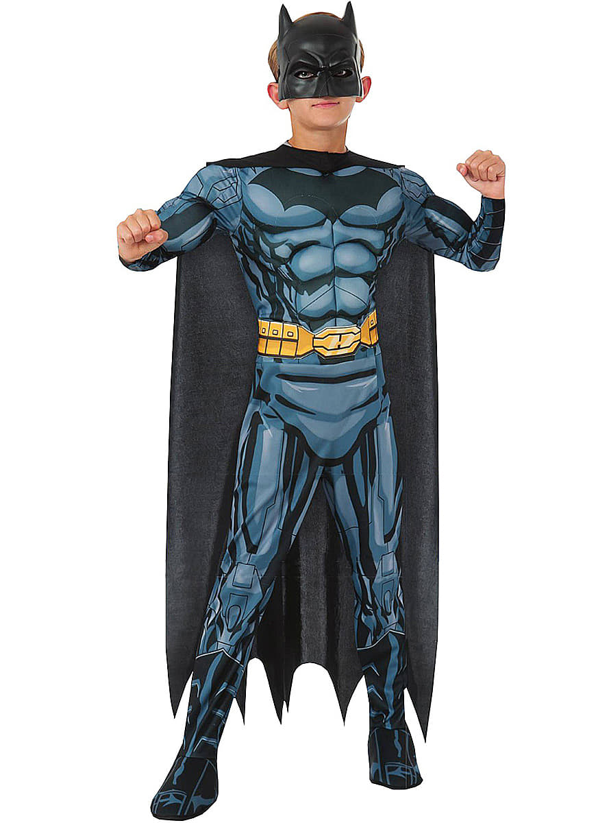 batman kost m f r kinder deluxe dc comics funidelia. Black Bedroom Furniture Sets. Home Design Ideas