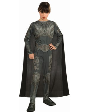 Faora Superman Man of Steel costume for a girl
