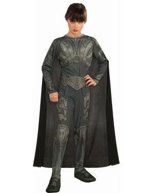 Fato de Faora Super-Homem O Homem de Aço para menina