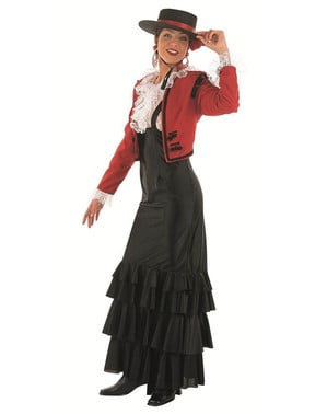 Strój elegancka Hiszpanka