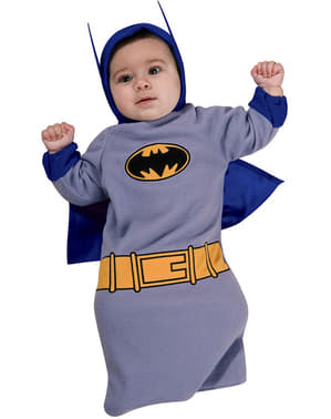 Batman the Brave and the Bold bag kostyme for baby