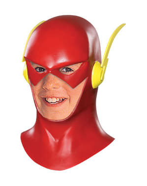 Flash full latex mask for Kids