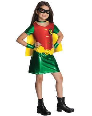 Teen Titans Robin Kvinnlig Maskeraddräkt Barn