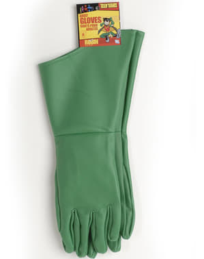 Robin Teen Titans gloves for an adult