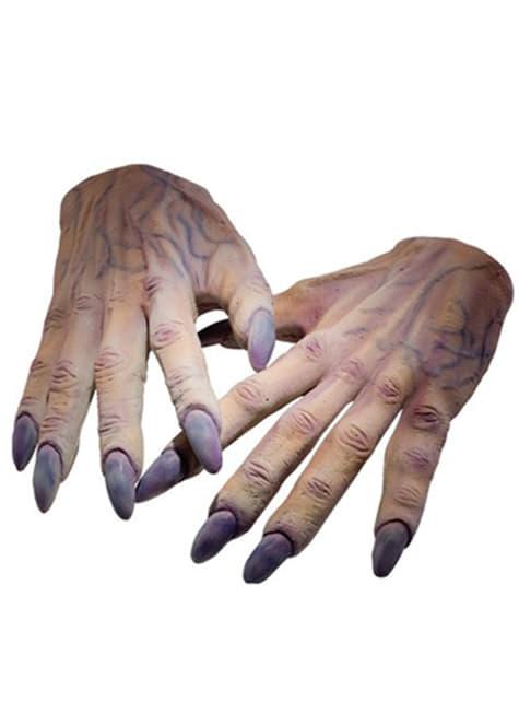 Mãos de Voldemort Harry Potter para adulto