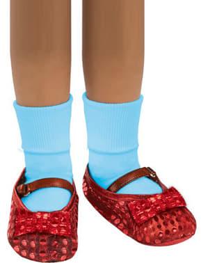 Tapa botas de Dorothy para menina