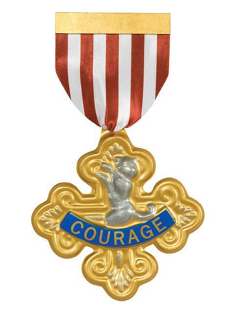 Medalla al Valor El Mago de Oz