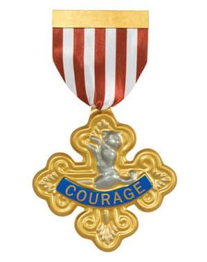 Medalha de Valentia O Feiticeiro de Oz