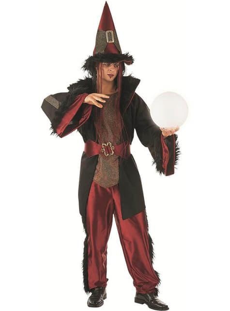 Sjarmerende Warlock Kostyme Voksen