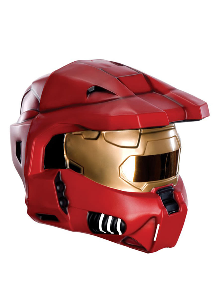 Zoom  sc 1 st  Funidelia & Red Spartan Halo helmet for an adult