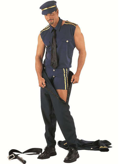 Disfraz de policía stripper