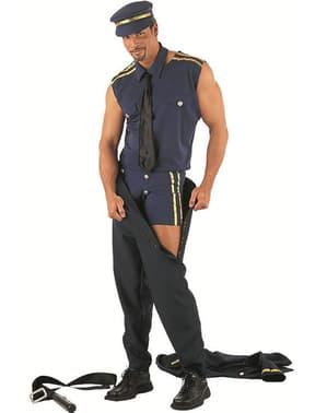 Politimann Stripper Kostume Voksen