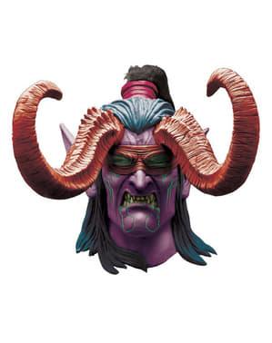 Illidian World of Warcraft latex masker voor volwassenen
