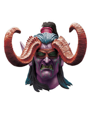 Maschera da Illidan World of Warcraft lattice per adulto