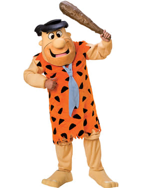 Supreme Fred Flintstone costume for an adult