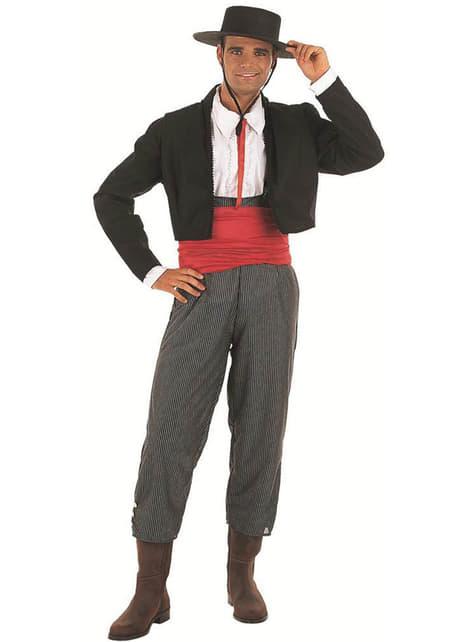 Cordovan Gentleman Adult Costume