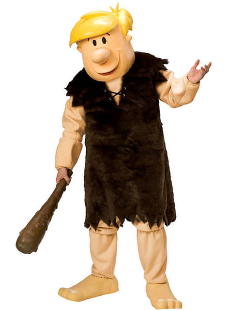 Supreme Barney Rubble costume for an adult