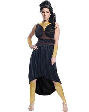 Fato de Rainha Gorgo 300: O Início de um Império para mulher