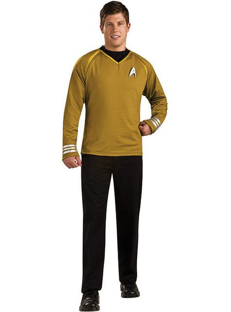Captain Kirk Grand Heritage Star Trek costume for an adult