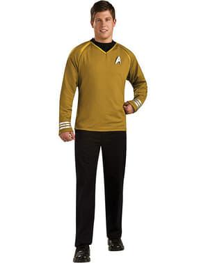 Star Trek Grand Heritage Kapten Kirk Maskeraddräkt Vuxen