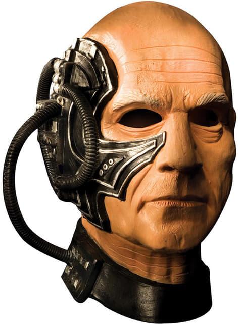 Máscara de Locutus completa de látex para adulto