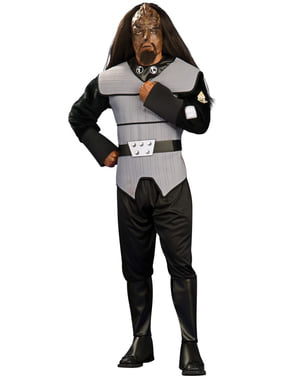 Klingon Star Trek The Next Generation costume for a man