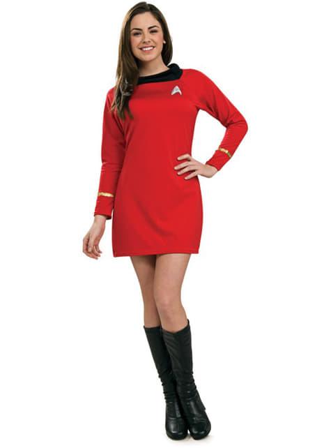 Uhura kostume Star Trek Classic til kvinder