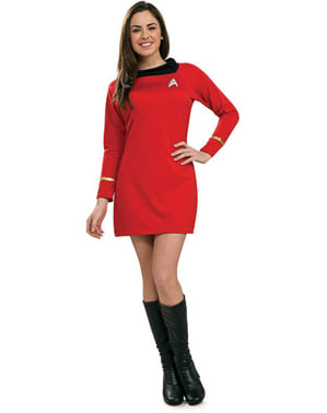 Uhura Kostüm für Damen classic Star Trek
