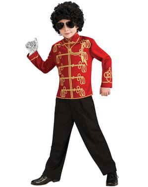 Casaco de Michael Jackson Beat It para menino