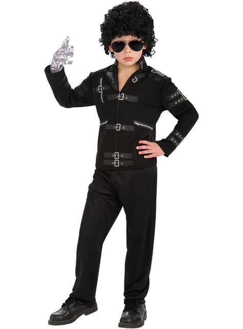 Chaqueta de Michael Jackson Bad para niño