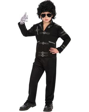 Casaco de Michael Jackson Bad para menino