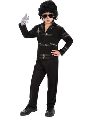 Veste Michael Jackson Bad pour enfant