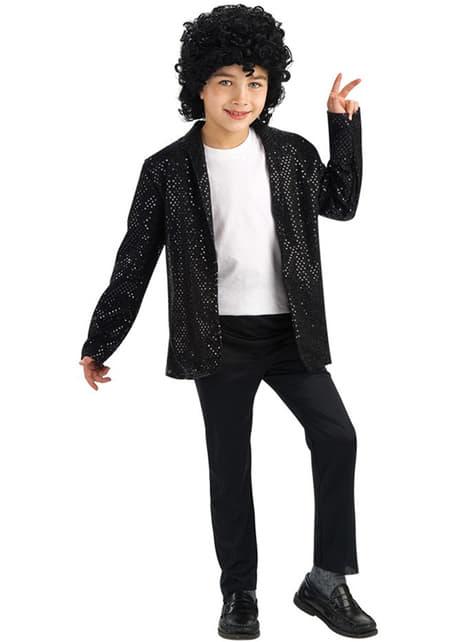 Marynarka Michael Jackson Billie Jean z cekinami dla chłopca