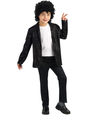 Michael Jackson Billie Jean jacket with sequins for a boy