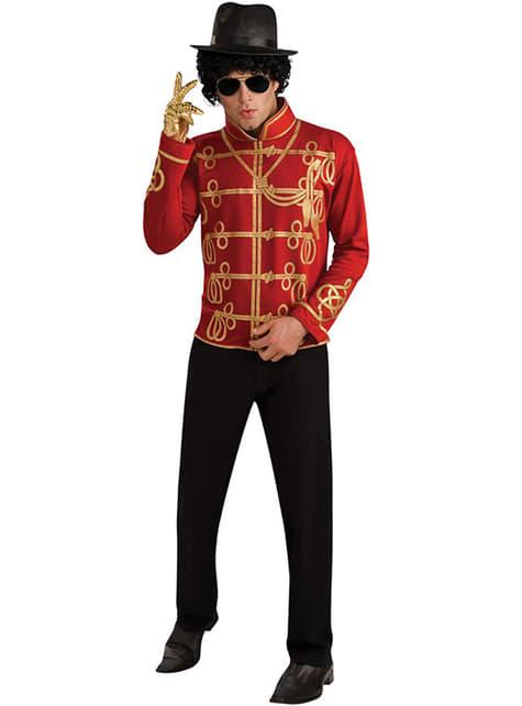 Marynarka Michael Jackson Militar czerwona dla dorosłych