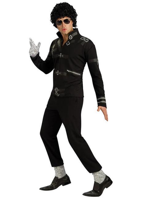 Casaco de Michael Jackson Bad para adulto