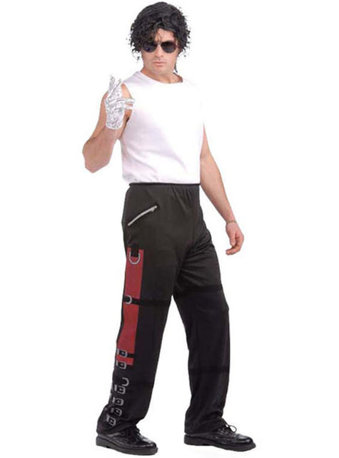 Calças de Michael Jackson Bad para adulto