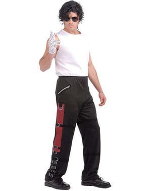 Pantalon Michael Jackson Bad pour adulte