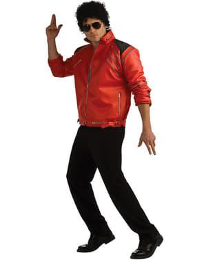 Casaco de Michael Jackson Beat It deluxe com fechos para adulto