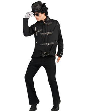 Michael Jackson deluxe Bad jacket for an adult