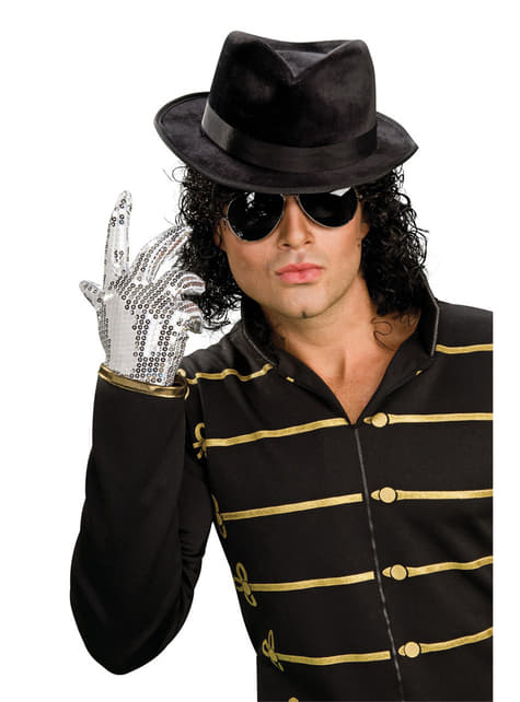 Okulary Michael Jackson czarne