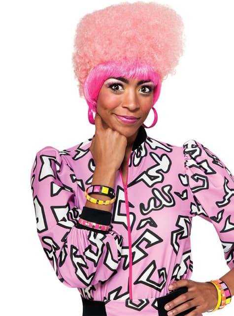 Nicki Minaj rózsaszín afro paróka