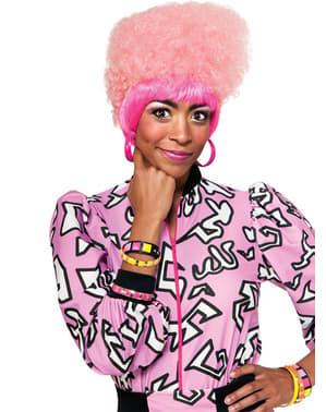 Nicki Minaj pinkki afroperuukki