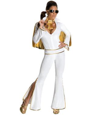 Disfraz de Elvis blanco para mujer