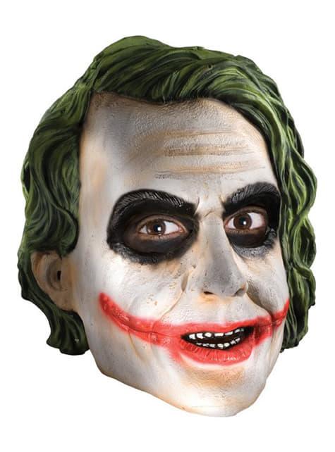 Maschera da Joker ¾ TDK per adulto